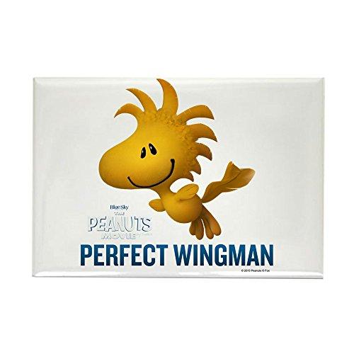 CafePress Woodstock - Wingman Rectangle Magnet, 2