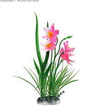 Mio.oo Decoración de Acuario Plantas Plástico Flores para pecera Tank: Amazon.es: Productos para mascotas