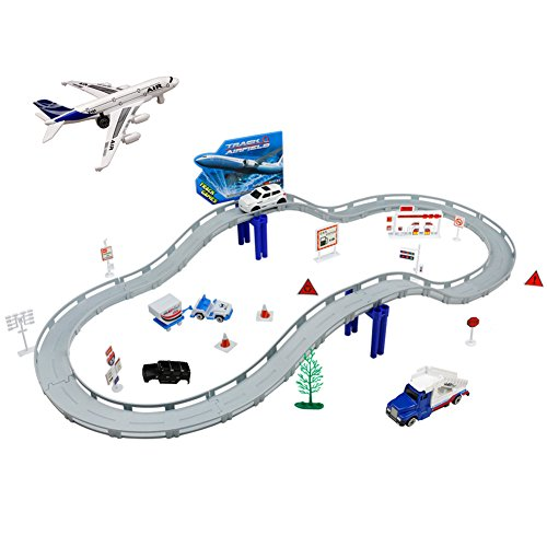 Wreapped Circuito Coches Pista Niños Maqueta Well Electricos K1culJ5F3T