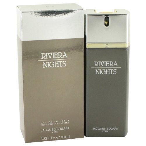 JACQUES BOGART Riviera Nights By Jacques Bogart For Men Eau De Toilette Spray 3.4 oz