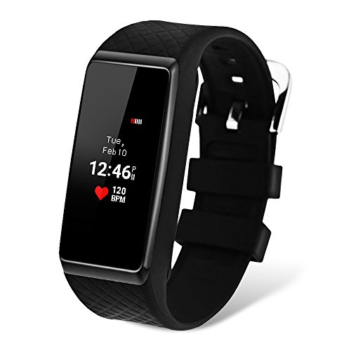 GBlife Fitness Tracker Watch, INCHOR OLED Touch Screen Bluetooth 4.0 Smart Wristband with Heart Rate Monitor Pedometer Sleep Monitor for Android and iPhone by GBlife