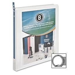 Business Source Standard Presentation Binder - 0.50\