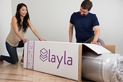 Layla Sleep Memory Foam Full Mattress - Copper Infused Cooling System