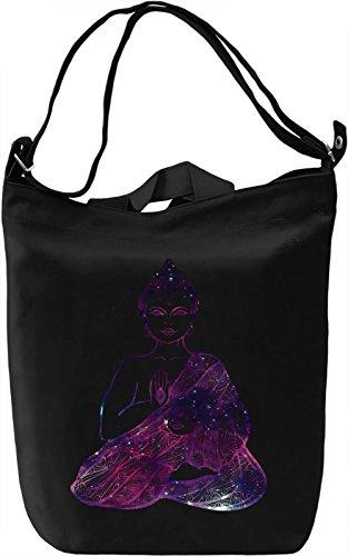 Colourful Buddha Borsa Giornaliera Canvas Canvas Day Bag| 100% Premium Cotton Canvas| DTG Printing|