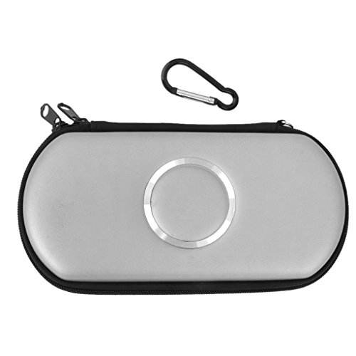 Carry Case Cover Bag Game Pouch For SONY PSP 1000 2000 3000 Slim -Silver