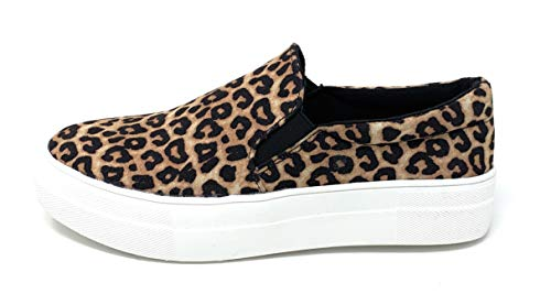 Soda Women's Slip On Platform Fashion Cushion Foam Sneakers Hi