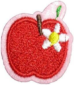 アイロンワッペン フルーツ 野菜 (リンゴ)