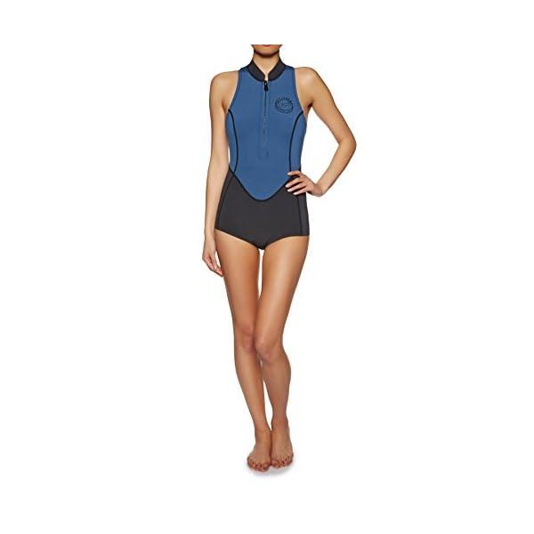 126c82f686 Billabong 2018 Womens 1mm Sleeveless Front Zip Spring Wetsuit ...