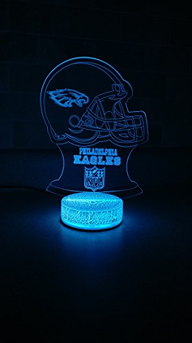 Philadelphia Eagles 3D LED Night Light 7 Color