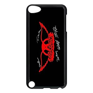 SUUER Aerosmith Signatures Sideways Personalized Custom Plastic Hard CASE Back Fits Cover Case for iPod Touch 5, 5G (5th Generation)