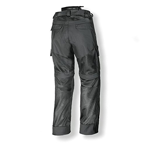 Olympia Moto Sports MP224 Men's Dakar Dual Sport Mesh Tech Pants (Pewter, Size 42)