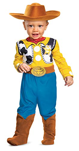 Disguise Baby Boys' Woody Deluxe Infant Costume, Multi, 6-12 -