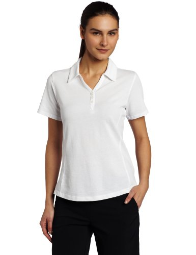 Cutter & Buck Women's CB Drytec Championship Polo, White, Medium