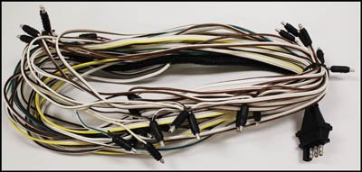 41gBYkUGvZL amazon com triton 08427 snowmobile trailer wire harness triton boat trailer wiring diagram at beritabola.co
