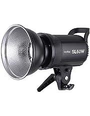 مصباح فيديو LED عالي الطاقة SL-60W 5600K بقوة 60 وات مع حامل من اجل التصوير الفوتوغرافي والفيديو اصدار ابيض