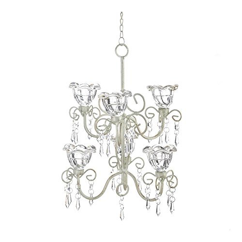 Koehler Home decor Crystal Blooms Double Chandelier by Quotech