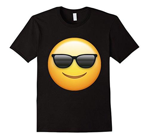 Mens Sunglasses Emoji T Shirt Large - Emoji Shirt Sunglasses