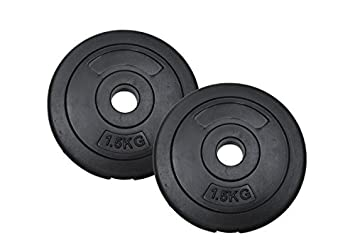 """1/"""" HOLE VINYL WEIGHT PLATES//DISCS HOME GYM TRAINING//LIFTING DUMBBELL//BAR WEIGHTS"""