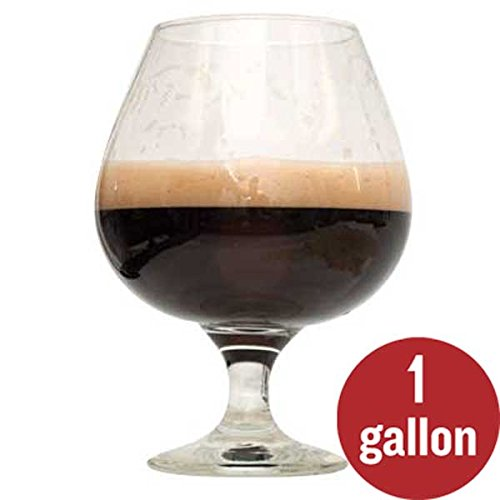 Bourbon Barrel Beer - 2-Pack 1 Gallon Dark Homebrew Beer Recipe Kit Bundle - Bourbon Barrel Porter Beer Recipe Kit and Rum Runner Stout Beer Recipe Kit - Malt Extract and Ingredients for 1 Gallon