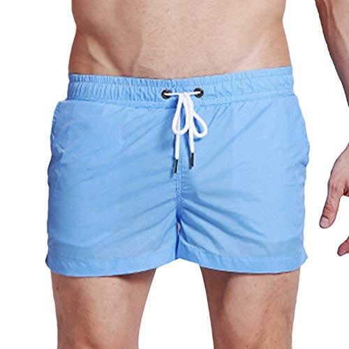 Libero Bagno Bianca Spiaggia Fit Pantaloncini Abbigliamento Slim Da Il Per Uomo Tempo Festivo SHnWv6Rpn