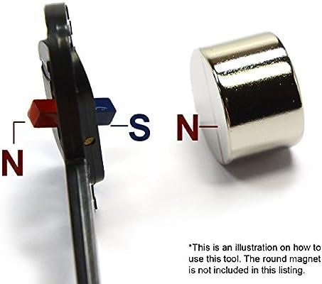 CMS Magnetics - Detector de polos magnéticos: Amazon.es: Amazon.es