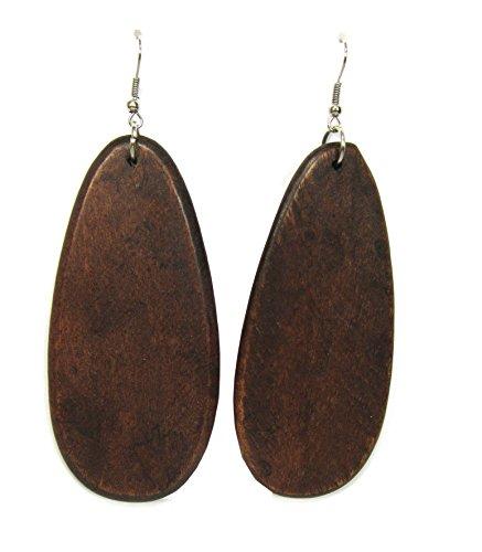 wood earrings - 3