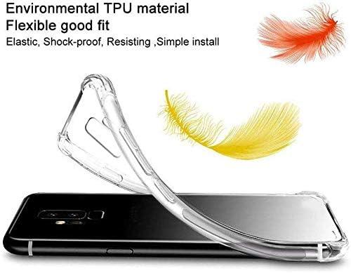 HYMY Funda para LG K40S Refuerzo de Cuatro Esquinas, Absorci/ón de Golpes 6.1 Caso Carcasa para LG K40S 2 x Cristal Templado Transparente Tapa TPU Silicona