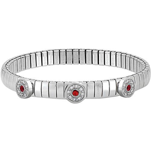 Nomination - Bracelet - Acier inoxydable - Oxyde de Zirconium - 18.0 cm - 043811/006