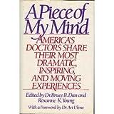 A Piece of My Mind, Bruce B. Dan, 0394577159
