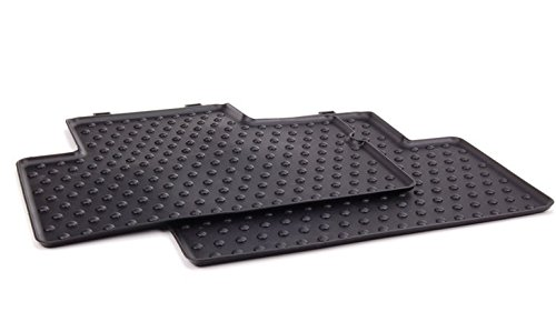 MINI Cooper Clubman Genuine Factory OEM 51472231962 Rear All Season Floor Mats 2007 – 2012 (set of 2 rear mats)
