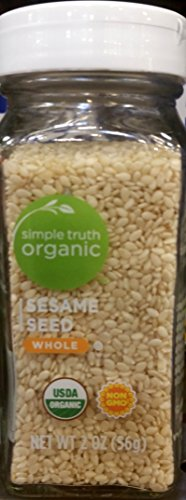 Simple Truth Organic Sesame Seeds Whole 2 oz (Pack of 3) by Simple Truth