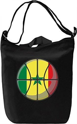 Senegal Basketball Borsa Giornaliera Canvas Canvas Day Bag| 100% Premium Cotton Canvas| DTG Printing|