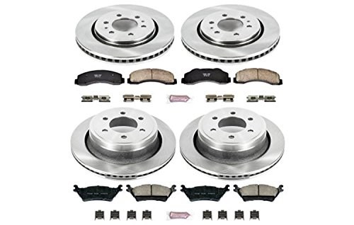 - Power Stop KOE6268 Autospecialty Daily Driver OE Brake Kit