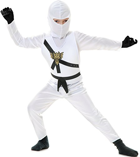 Charades Kid's Child's Ninja Avenger Costume Childrens Costume,