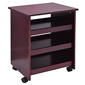 amazon storage cabinets giantex rolling wood storage cabinet shelves 10556
