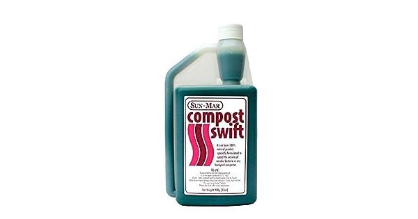 Amazon.com: 32 oz. Compost Swift: Jardín y Exteriores