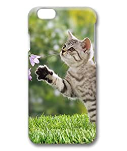 Unique Design Case for iphone 6,Fashion 3D PC Shell Skin for iphone 6 with British Shorthair Cat