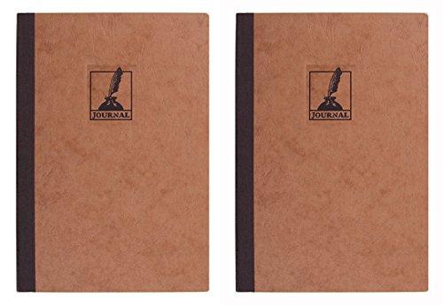 Pack of 2 Exacompta Clothbound 5.5