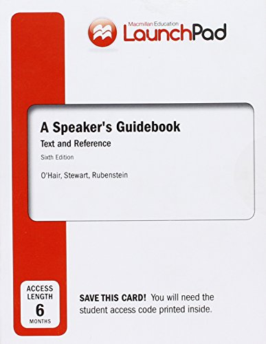 Speaker's Guidebook:Text+Ref. Launchpad