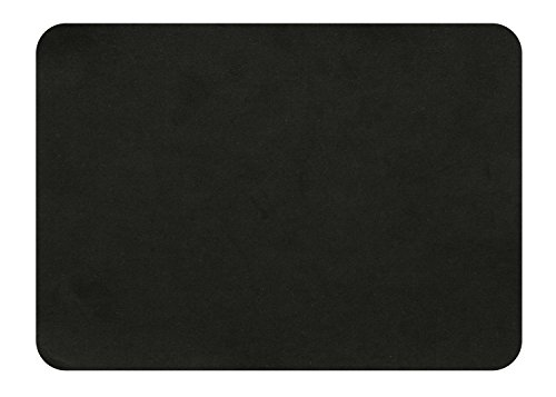 MastaPlasta Self-Adhesive Patch for Leather and Vinyl Repair, XL Suede, Black - 8 x 11 Inch