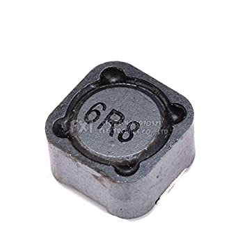 10PCS CD127 CDRH127R 12x12x7MM 6 8uH 6R8 Shielded Inductor SMD