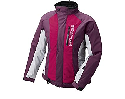 Womens Snowmobile Suits >> Polaris Women S 3 In 1 Throttle Insulated Snowmobile Jacket With Liner Purple Large