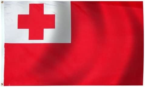 Amazon.com : 3 x 5 FT - TONGA FLAG - OUTDOOR : Outdoor Decor : Garden &  Outdoor