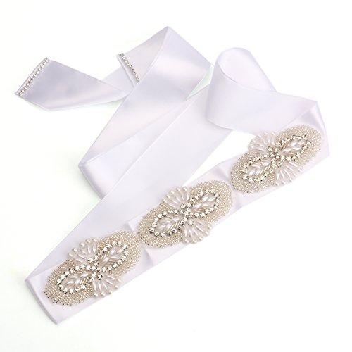 Foraineam Wedding Bridal Belt With Rhinestone 61