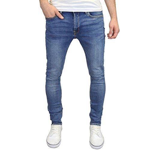 Jack & Jones Men's Liam Original 005 Skinny Jeans, Blue, 28W x 32L from Jack & Jones