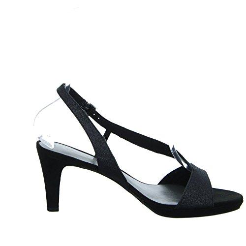 Tamaris - Sandalias de vestir de Material Sintético para mujer BLACK GLAM