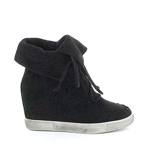 Misstic - Zapatillas de Deporte de Lona Mujer negro