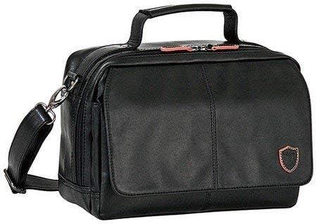 ショルダーバッグ メンズ 柔らか合皮 A5ショルダーバッグ横型