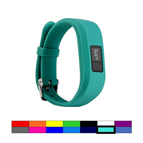 For Garmin Vivofit 3 and Vivofit JR, Dunfire Colorful Accessory Band/ Wristbands With Secure Watch-style Clasp For Garmin Vivofit 3 and Vivofit JR (ROYAL - Usps Tracking With Options Shipping