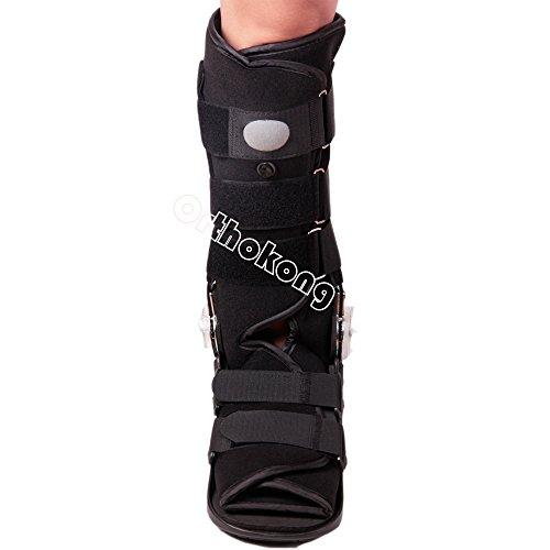 Pneumatic ROM Walker Fracture Walker Boot Medical Walking Boots Achilles Tendon Surgery Acute Ankle Injuries Sprains Inflatable Supports (Medium) by Orthokong (Image #6)